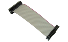 20-pos IDC ribbon cable 100 mil