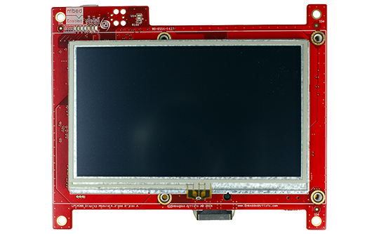 LPC4088 Display Module - 4 3 inch Resistive TP - Embedded Artists