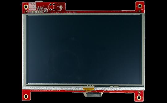 Image of LPC4088 Display Module – 5 inch Resistive TP
