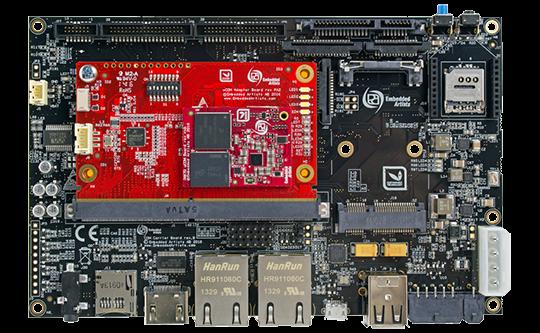 Image of iMX7 Dual uCOM Developer's Kit