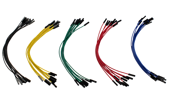 Image of Jumper Wires F/F 50 pack