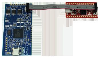 LPC1343 QSB and LPC-Link