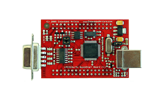 Image of LPC2148 USB QuickStart