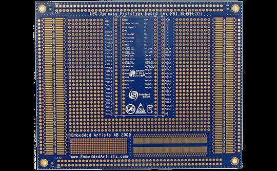 Image of LPCXpresso Prototype